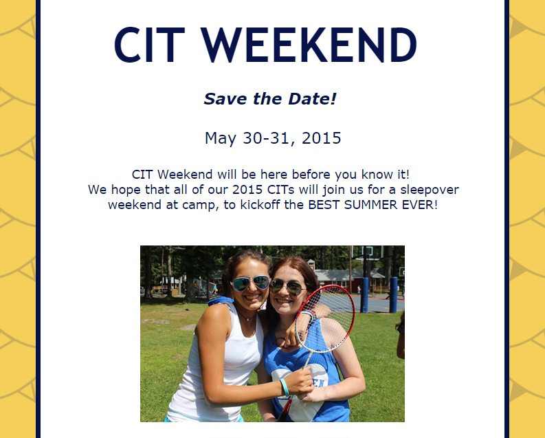CIT Weekend