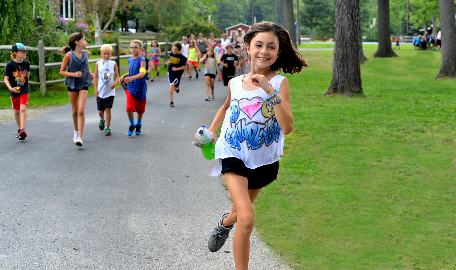 Image of Stella Running - Fun Summer Camp Activities