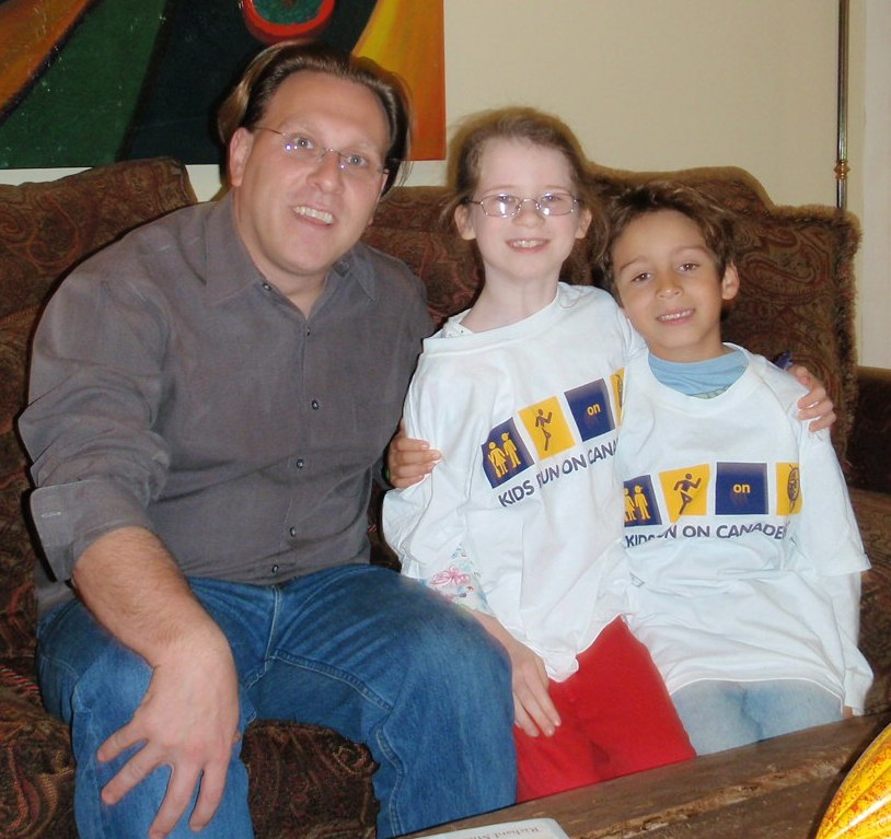 Me with Haley and Marshall Greenspan.  Both will be Juniors in Summer 2010.