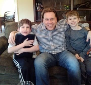 Me with Lower Junior Boys Zach and Ryan Friedman.